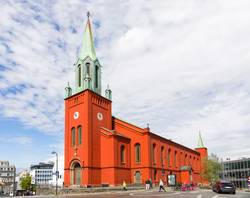 St. Petri Kirche in Starvanger, Norwegen