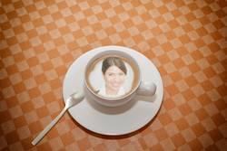 Personifizierte Cappuccino App