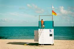 Bademeister und Rettungsschwimmer