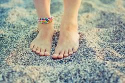 Sand unter den Füßen