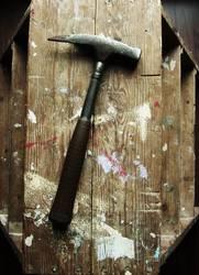 Hammer harte Gebrauchsspuren