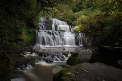 Purakanui Falls Neuseeland I