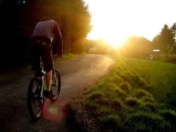 Fahrt in die Abendsonne