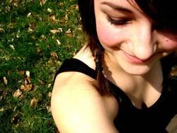 sommerliches Lächeln