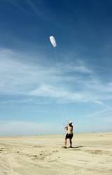 Kampf mit dem Wind