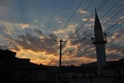 albanischer Abendhimmel