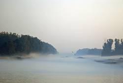 Nebel am Morgen, vertreibt Kummer und Sorgen