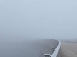 nebulös | Brücke ins Ungewisse...