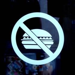 Burgerverbot...