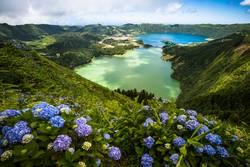 Lagoa Verde & Lagoa Azul