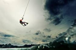 wakeboarder, langsam nervt es