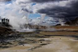 ISLAND / Námafjall - mud pots