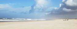 angeln am beach