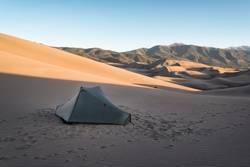 Zelten im Great Sand Dunes National Park