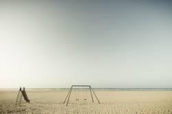 Spiekeroog | Spielplatz am Strand
