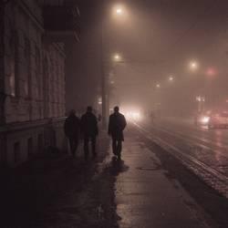 Nachtgestalten auf dem Heimweg