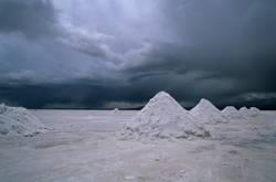 Salzkegel bei Uyuni