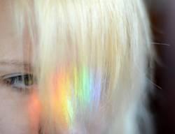 Regenbogenblond