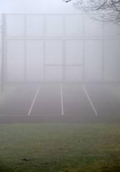 Sport im Nebel