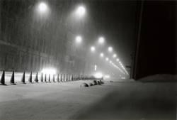 verschneites St. Petersburg