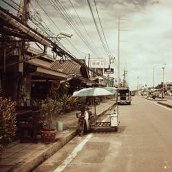 Straßen in Khao Lak