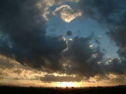 Himmel am Abend