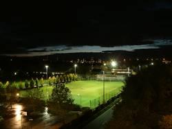 Fußball nachts