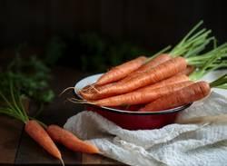 Stillleben mit Karotten