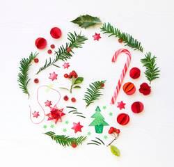 runde Weihnachten