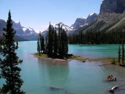 Spirit Island (AB, Canada)
