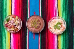 drei mexikanische Salsas