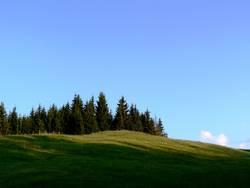 Schatten des Hügels
