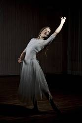 Ballerina beim Tanzen