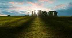 Stonehenge Sonnenuntergang
