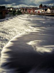 River Nith at Dumfries