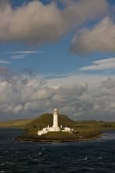 Leuchtturm auf der Isle of Mull (Schottland)