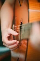 Gitarrenschülerin II