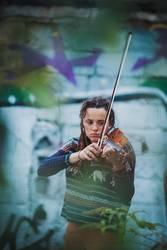 Ton in Ton | Geige und Graffiti
