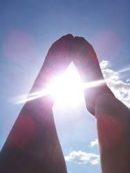 bright sunshiny feet