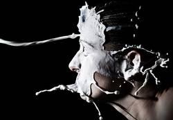 Milch Splash