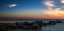 Sonnenaufgang am Meer - Sunrise at the beach