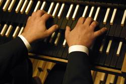 Orgel - Spieltisch