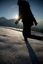 Spuren im Schnee III