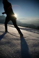 Spuren im Schnee II