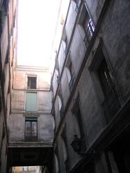 Gasse in Barcelona