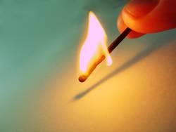 Feuer entzünden