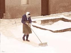 Anna räumt seit 96 Jahren ab