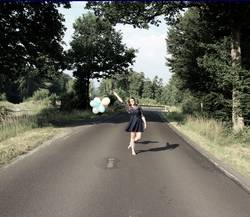 Dancing on the road