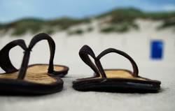 Hennes und Mauritz am Strand