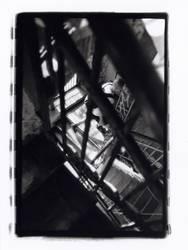 Treppenhaus im Tacheles